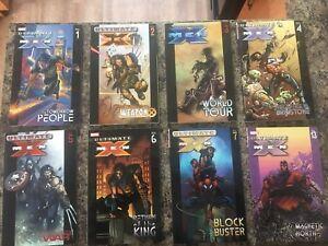 X-Men Wolverine Marvel Graphic Novel comic books