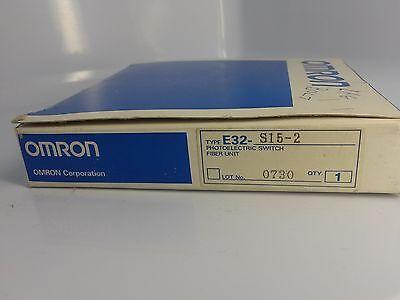 Omron Fiber Optics For Luster Sensor E32-s15-2