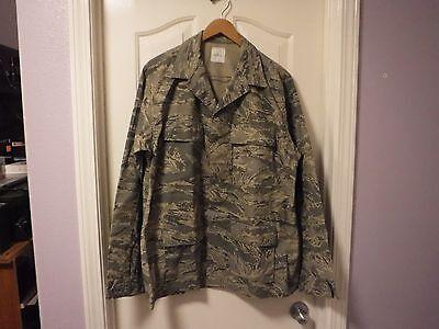 New Airman Battle Uniform - Mens Coat Shirt Jacket Airman Battle Uniform ABU 44L 8415-01-536-4591 NWOT