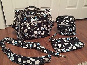 Jujube BFF Diaper Bag and accessories
