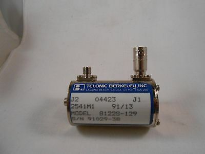 8122s-129 Telonic 10 Step Variable Attenuator Sma-bnc  Same As 50v10-1088