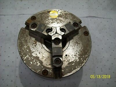 Pratt Burnerd 10 Lathe Chuck Bp696173 1272-62515