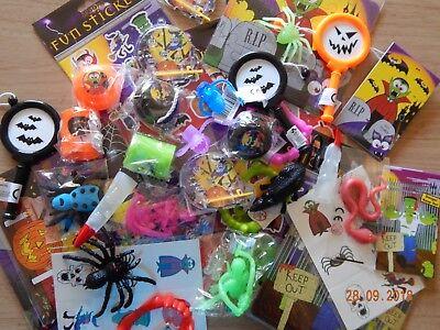 100 HALLOWEEN PARTY BAG FILLERS JOB LOT BULK TOYS WHOLESALE HALLOWEEN FAVOURS - Halloween Toys Bulk