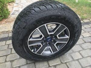 pneus hiver ford f150 et mags rim ford