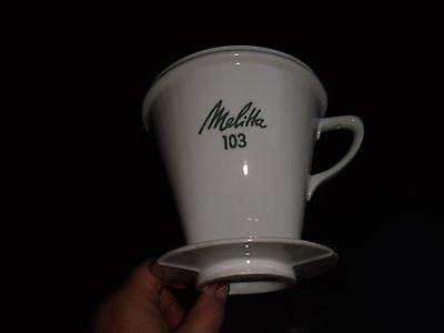 Melitta Kaffeefilter 103 er 3 Loch selten Bild schauen