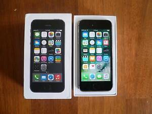 iPHONE 5S 16GB BLACK Unlocked,BOX ACCESSORIES looks like New Mortdale Hurstville Area Preview