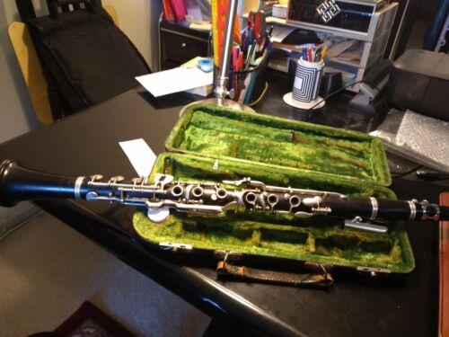 BB Albert System 6 rings Clarinet F. A. Uebel Clarinet Model 636 overhauled