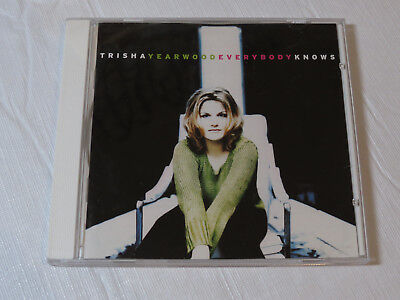 Everybody Knows By Trisha Yearwood Cd 1996 Mca Records I Want To Live Again