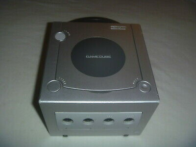 Nintendo Gamecube (Replacement) System Console Only Platinum Silver Great Shape