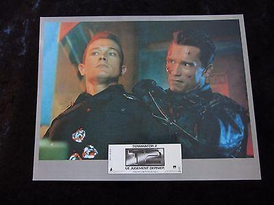 Terminator 2 lobby card # 6 Arnold Schwarzenegger