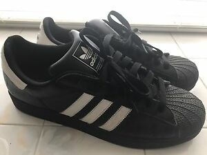 Men's ADIDAS Black Leather Size 12 $30