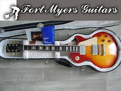 2011 GIBSON LES PAUL TRADITIONAL PLUS CHERRY SUNBURST HAS A TON OF SUSTAIN