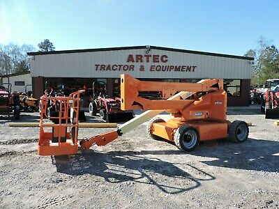 2010 Jlg E450a Articulating Boom Lift - Watch Video - Only 880 Hours