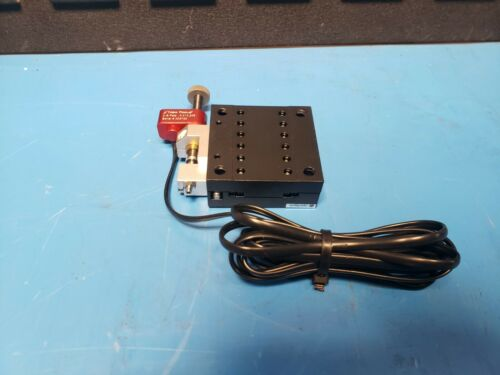 OptoSigma Precision Translation Stage W/ New Focus Picomotor Piezo Actuator 63mm