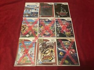 Wii Games (Some Sealed)