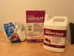 Coulis &  protecteur / Grout &  Stain Protector