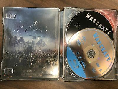 Warcraft Blu-ray + DVD Steelbook