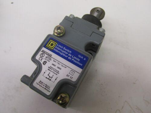 New Square D Limit Switch Ser. A 9007C52D CT52 41846LR
