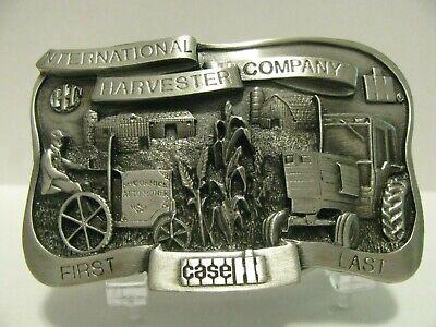 Case IH 1906 McCormick Auto Mower 50 Ser Farmall Tractor First Last Belt Buckle