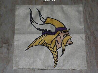 Minnesota Vikings NFL Kissenbezug / Kissenhülle- Football - ca.45x45cm - NEU