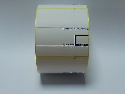 CAS Scale Labels Thermal 58mm x 60mm 12 Rolls Free Del!