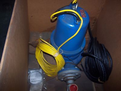 Refurbished Goulds 3 Submersible Sewage Pump 2 Hp 460 Vac Ws2034d