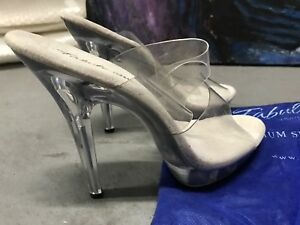 Clear Competition Heels