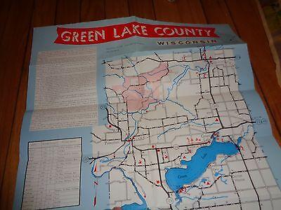 Brochure for Green Lake County Wisconsin Princeton Berlin