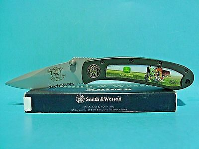 Smith & Wesson John Deere pocket knife 150th Anniversary Free Shipping USA