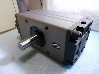 Smc Cra1bw100-100 Pneumatic Air Rotary Actuator 100 Degree Double Shaft
