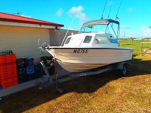Boat Savage 16ft Half Cabin Great Condition with everything Wallaroo Copper Coast Preview