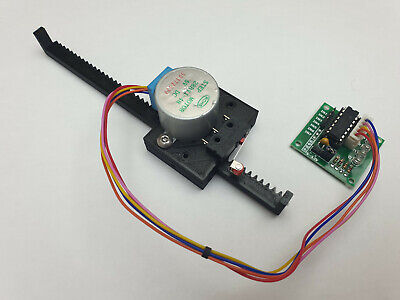 Linear Actuator For Stepper Motor Arduino 28byj-48 Uln2003 Driver Raspberry Pi