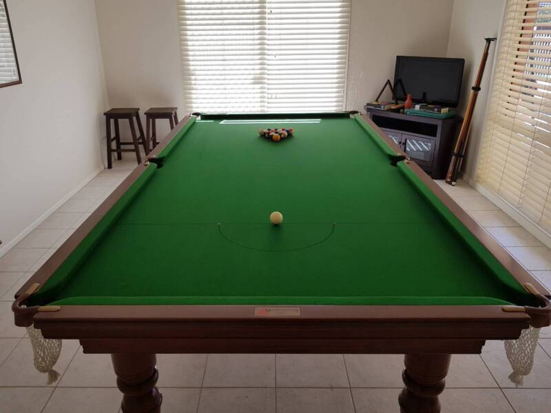 Foot Italian Slate Pool Table Other Furniture Gumtree - 9 slate pool table