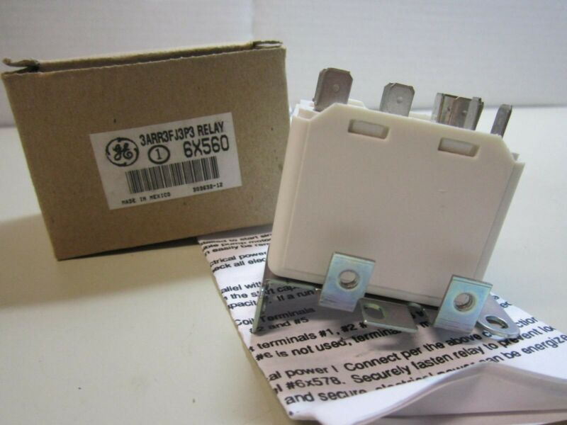 General Electric 6X560 Potential Relay 175-162V NEW