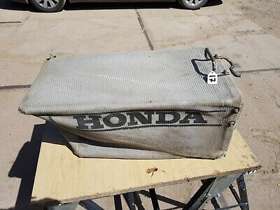 HONDA MESH FABRIC LAWN MOWER LAWNMOWER GRASS COLLECTION BOX