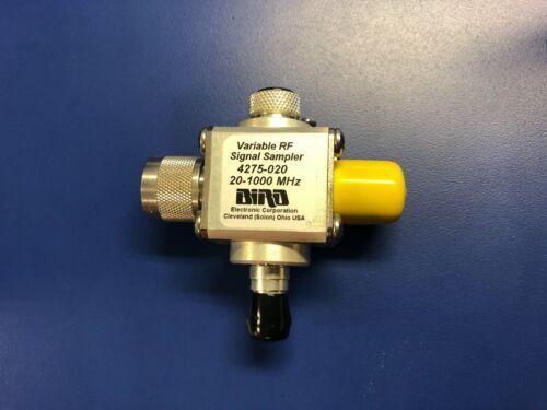 Bird Thruline RF Sampler 4275-020 20-1000 MHz