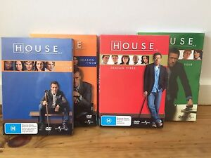 House MD DVDs - Season 1-4 Wantirna South Knox Area Preview