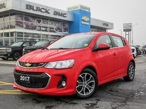 2017 Chevrolet Sonic LT,RS,SUNROOF,HEATED SEATS REMOTE START