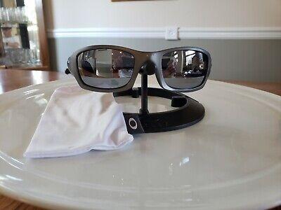 Oakley Fives Squared RARE 3.0 Matte Gray Frame NEW Galaxy Polarized Titanium Len