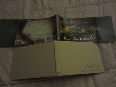 BRUNSTETTER'S AMISH FRIENDS COOKBOOK DESSERTS HC DJ 2011 EUC