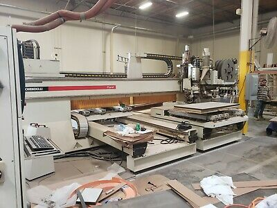 Morbidelli Planet St-super-hp Cnc Drilling Routing Edgebanding Machine