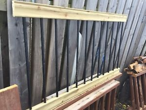 (One)Pressure Treated Baluster Railing for Deck, Porch or Gazebo
