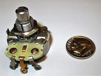 50k Ohm Audio Taper 2 Watt Potentiometer Cts - U.s.a. 1 Pcs. Nos
