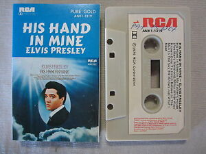 ELVIS-PRESLEY-WITH-THE-JORDANAIRES-HIS-HAND-IN-MINE-AUSTRALIAN-RELEASE-CASSETTE
