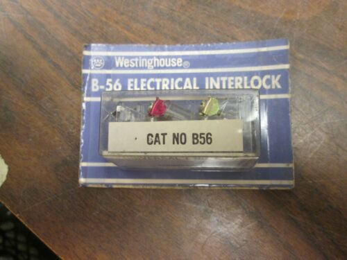 Westinghouse Electrical Interlock B56 1 N.o. 1 N.c. New Surplus