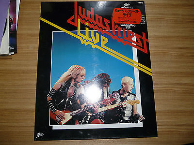 JUDAS PRIEST Judas Priest Live JAPAN VHD SEALED RARE