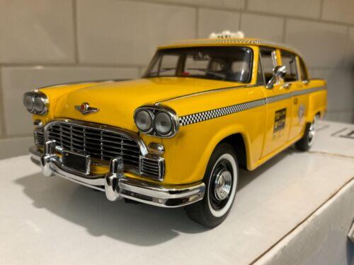 Franklin Mint  -  New York City Checker Taxi Cab
