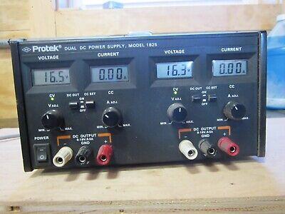 Protek 1825 Dual Output Dc Power Supply 0-18 Vdc