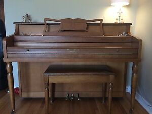 Mason & Risch upright piano