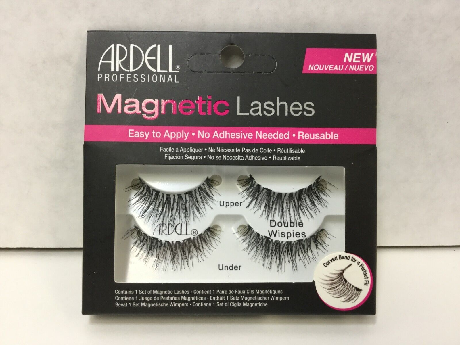 Ardell Professional Magnetic Lashes, Double Strip, Wispies,